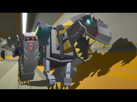 アニメーション「トランスフォーマーサイバーバース」シーズン2 第3話 transformers