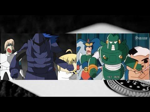 【比較】ス・ノーマン・パー戦(Fate×クレしん)