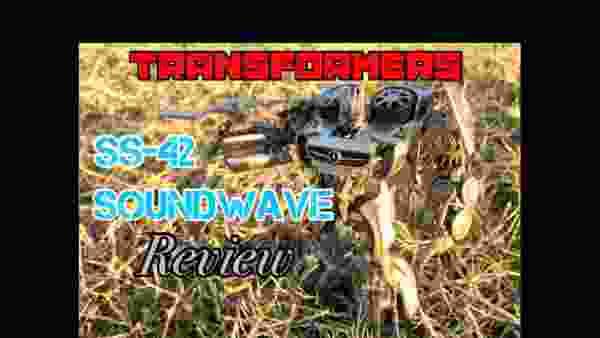 【studio series】トランスフォーマー SS-42 サウンドウェーブ with レーザービーク Review‼︎【マニ屋'sレビュー】