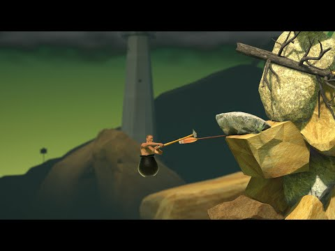 【Getting Over It with Bennett Foddy】壺男